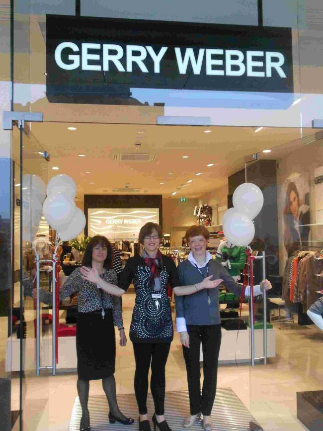 WELCOME: Claire Robertson at Gerry Weber