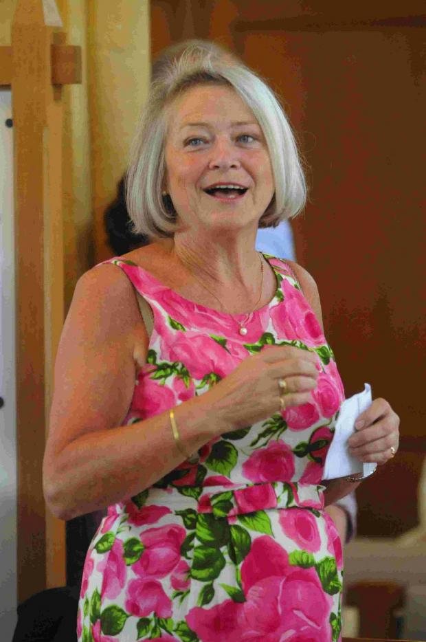 Dorset Echo: OLD SOLDIER: Kate Adie