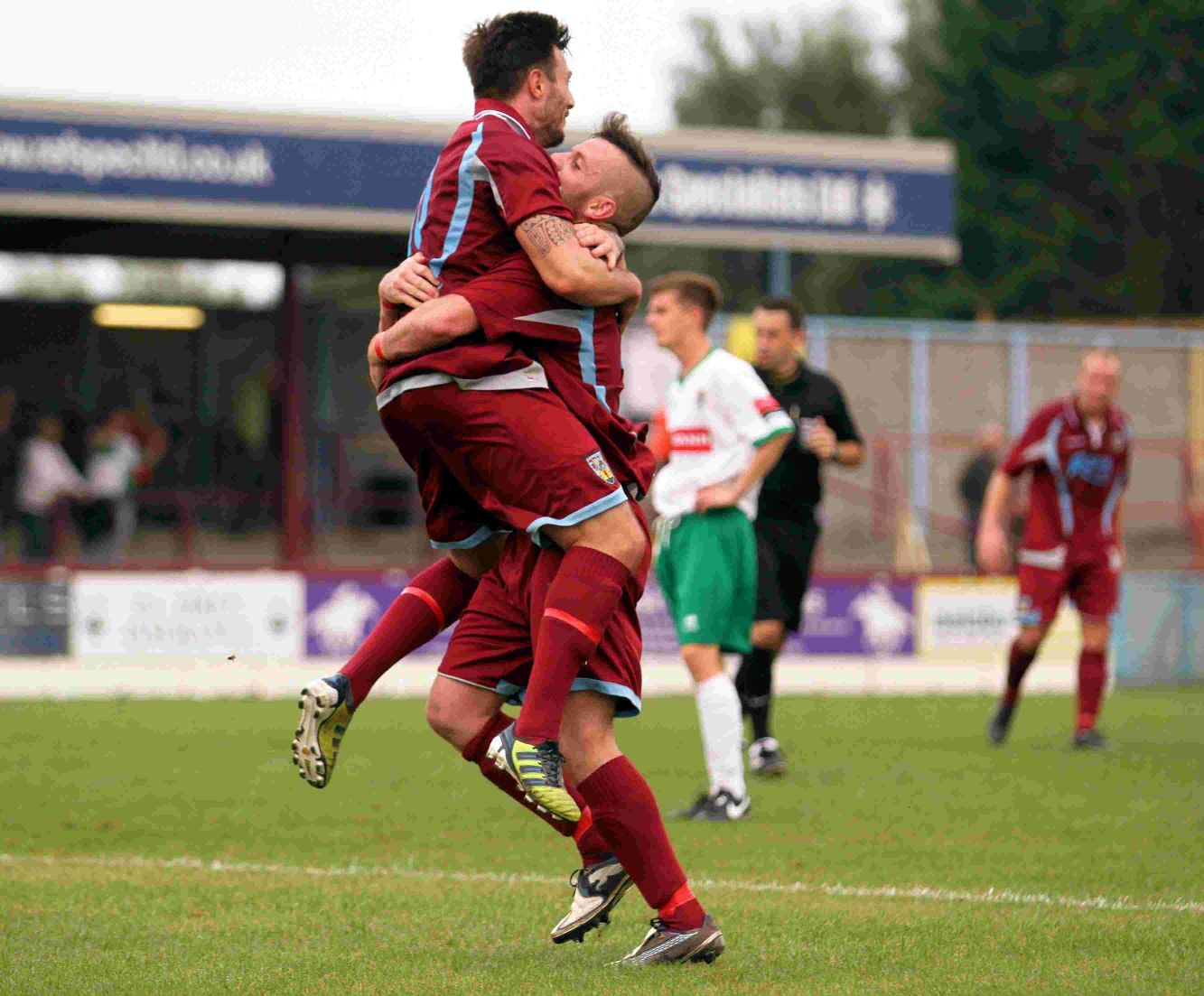 DYNAMIC DUO: Ben Joyce and Stewart Yetton will spearhead the Terras against Poole on Thursday