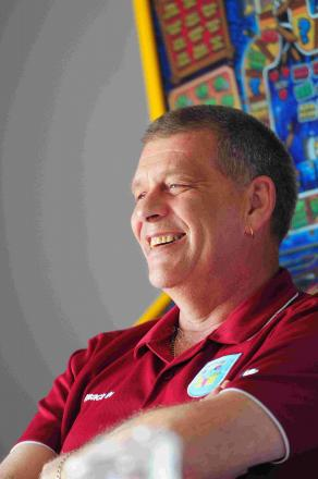 POSITIVE OUTLOOK: Nigel Biddlecombe