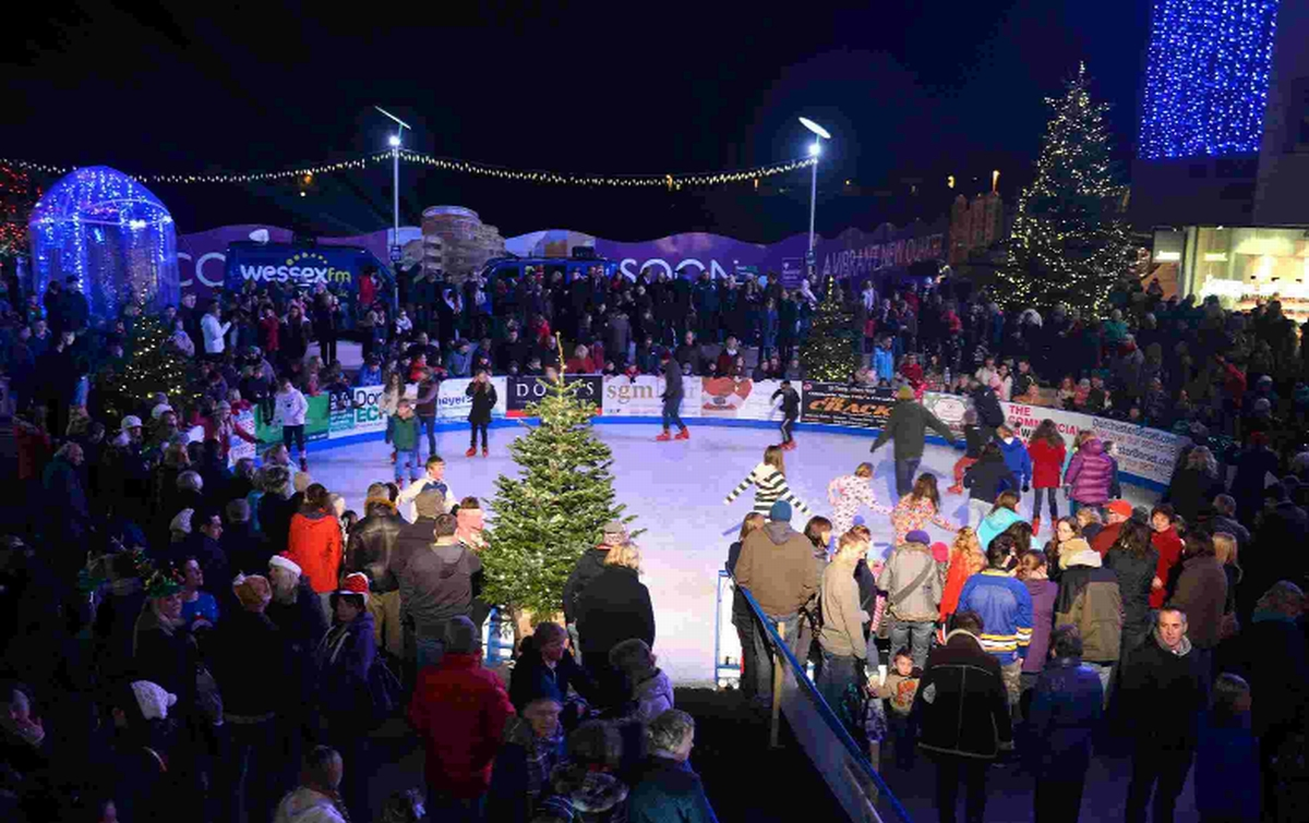 WITH VIDEO: Brewery Square launches ice rink amid county Christmas countdown