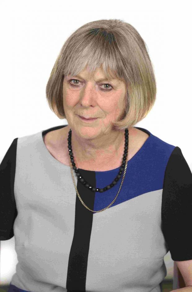 Dorset Echo: Dorset County Council cabinet member for environment Hilary Cox