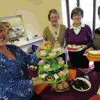 Dorset Echo: DONATIONS: The coffee morning at St Paul's Community Hall, Weymouth