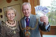 BACKING APPEAL: Mayor Ray Banham and mayoress Pam Nixon