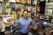 TOYS ARE US: Tom Steadman from Tom & Erins gift shop