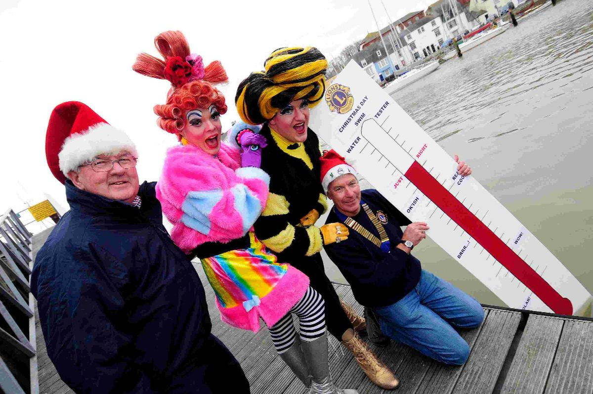 Brrr-ave swimmers all set to take plunge for Charity on Christmas Day