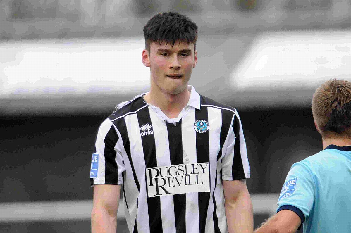 ON TARGET: Former Dorchester Town striker Kieffer Moore