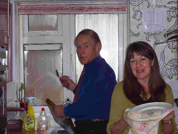 Dorset Echo: RELIEVED: John and Rosemary Dunn Picture: Picture: Michael Mincham