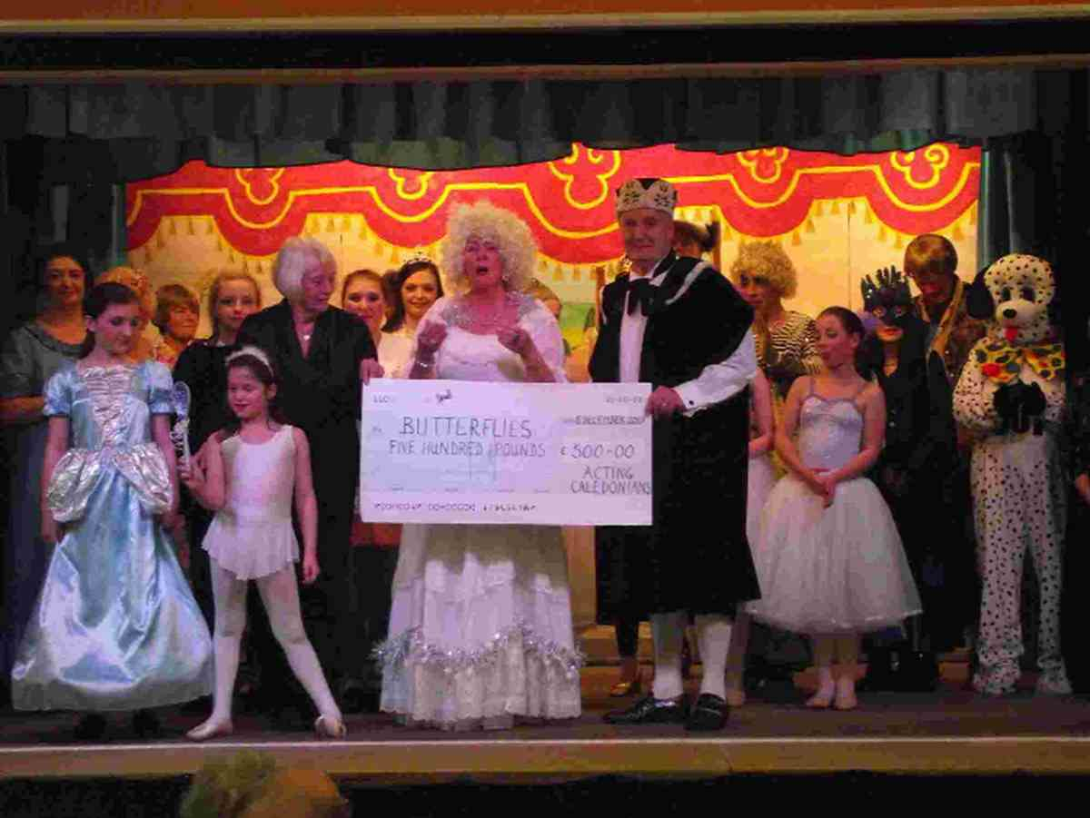 Panto profits go to local charity