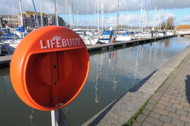 Dorset Echo: Weymouth inner harbour