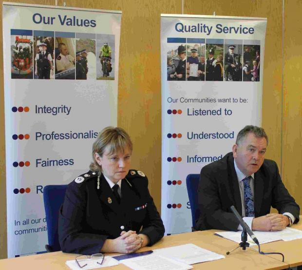 CONSULTATION: Dorset Chief Constable Debbie Simpson and Police and Crime Commissioner Martyn Underhill