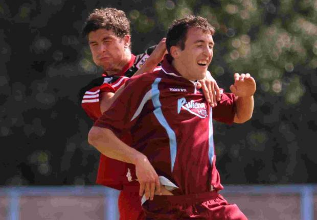 EAGER: Weymouth striker Mark Ford