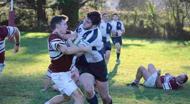 BY GEORGE: George Bowditch goes on the attack for Bridport Seconds