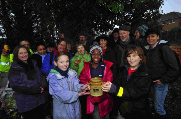 TRADITION: You can join Transition Town Dorchester for an annual wassail