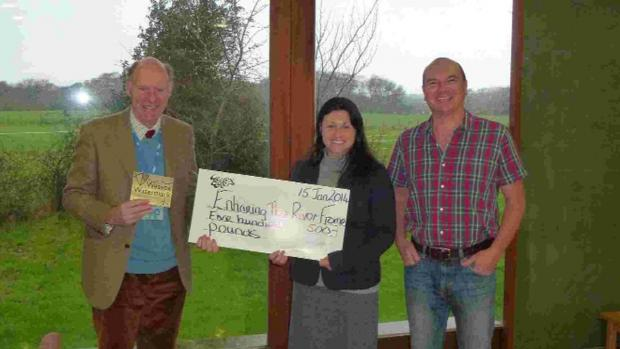 Dorset Echo: CHEQUE IT OUT: Bridge over the River Frome at Lower Bockhampton