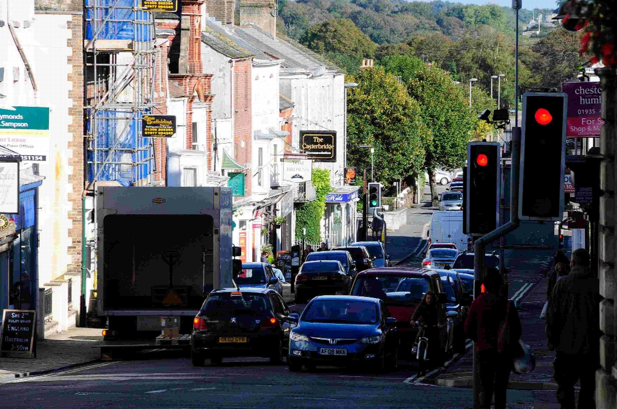 CONTROVERSY: Residents have voiced objections to Dorchester's traffic scheme