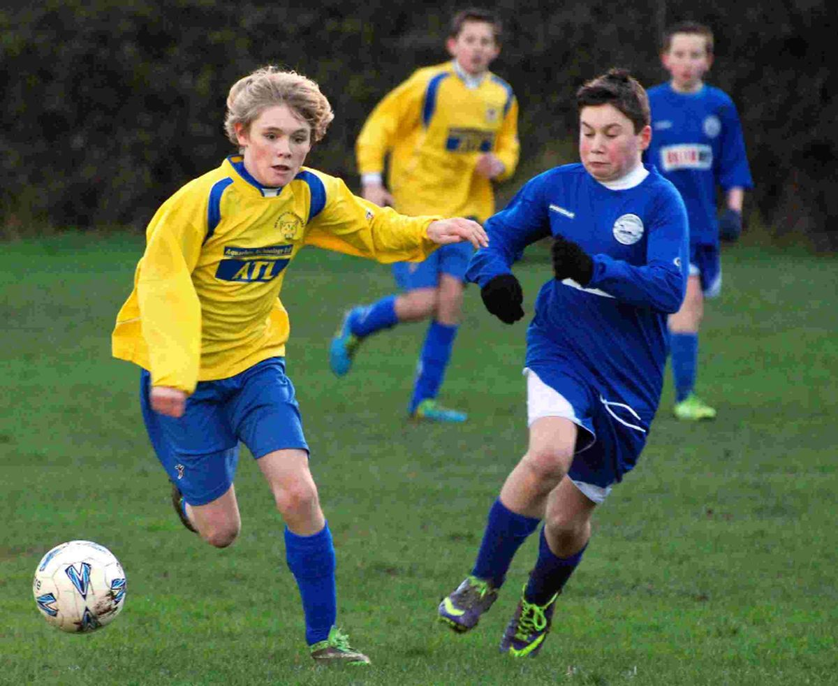 UP FOR THE CUP: Weymouth Cougars Under-1