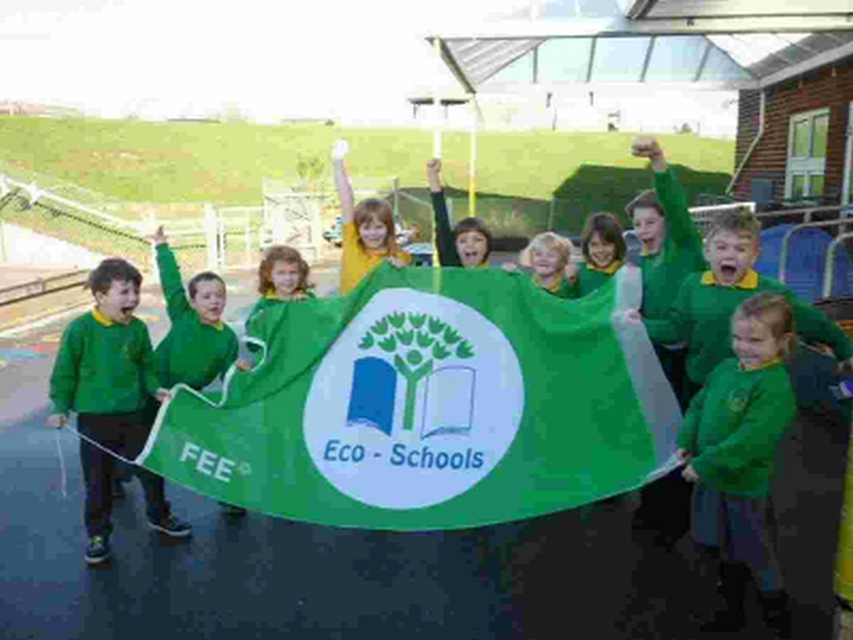 Youngsters at St Mary's First School, Charminster, launch the competition