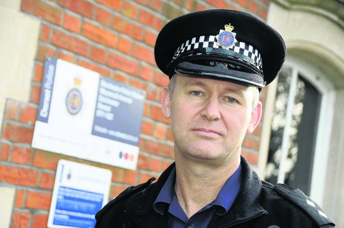 Inspector Steve Marsh of Dorchester Police