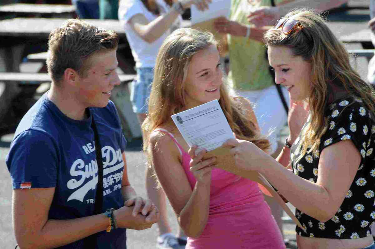 Schools celebrate success in GCSE league table of exam results