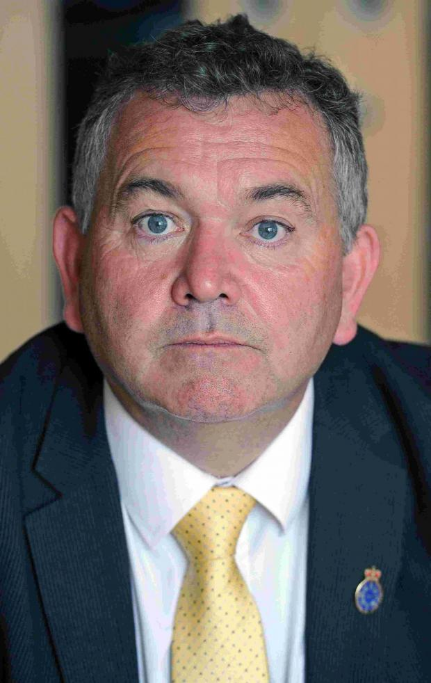 Dorset Echo: Police and Crime Commissioner Martyn Underhill