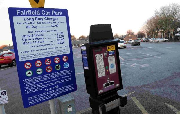 Dorset Echo: DOUBLE UP: Parking charges set to rise