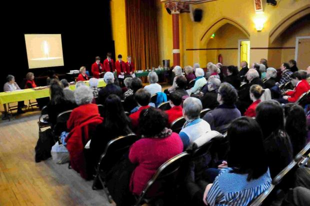 MORE AWARENESS: Holocaust Memorial Day event at the Corn Exchange, Dorchester