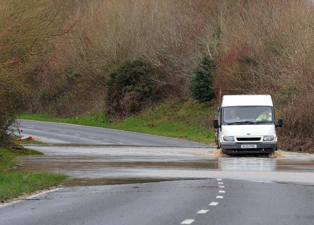 Dorset Echo: County escapes worst of stormy weather but warnings remain in place