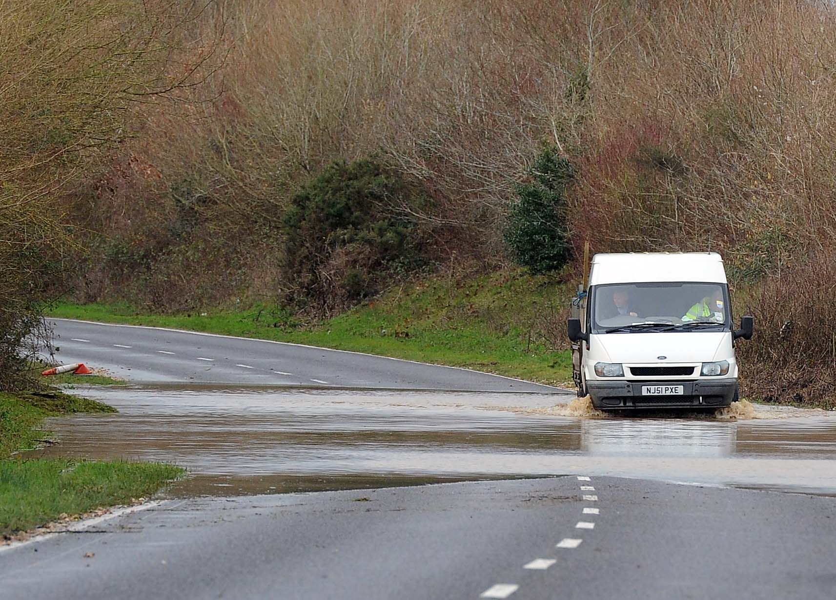 County escapes worst of stormy weather but warnings remain in place