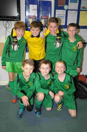 ALL SMILES: Champions Holy Trinity School celebrate