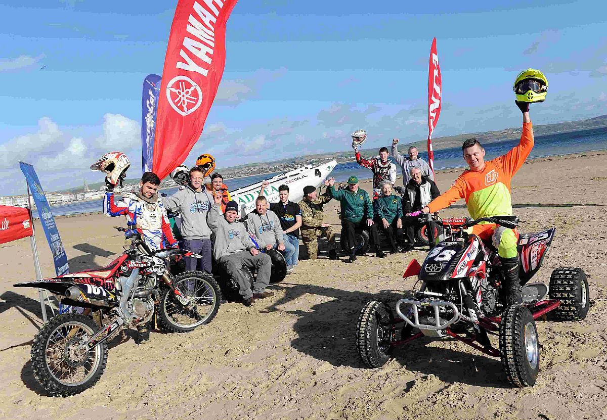 ALL SET: The launch of Dickies Quad Beach Cross