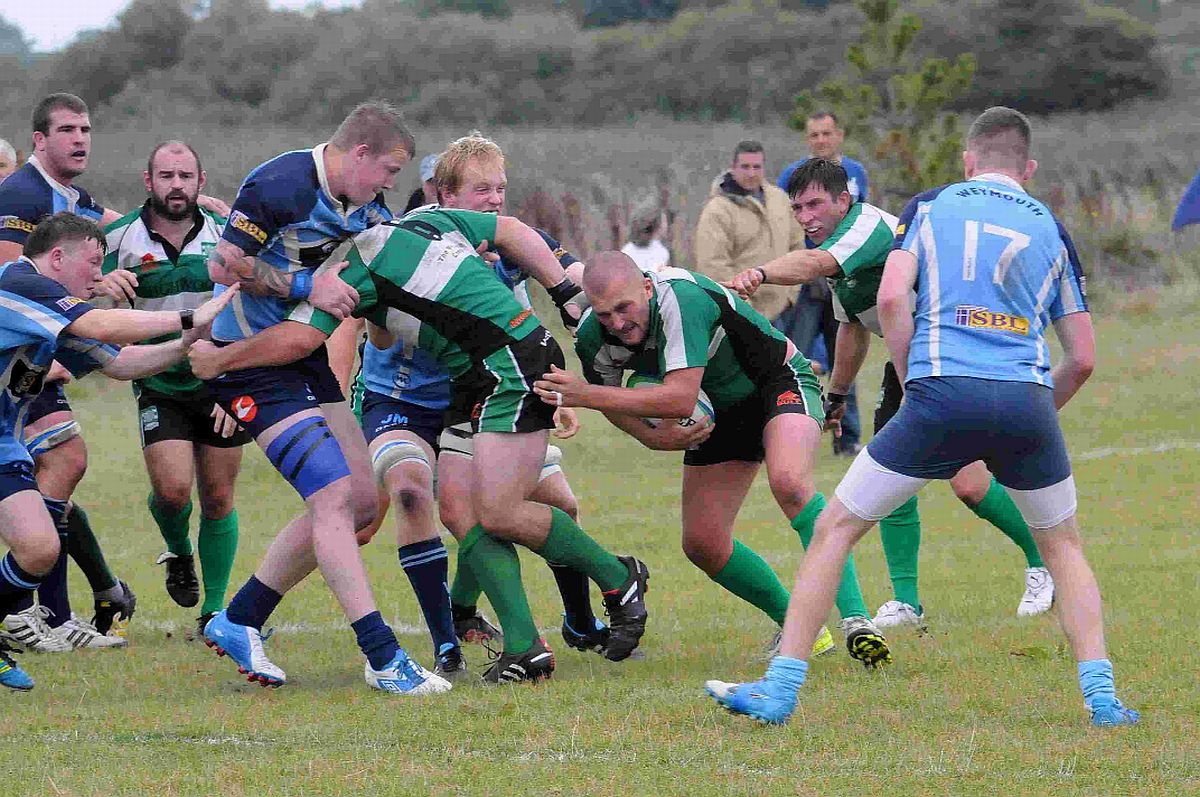 DERBY DEFEAT: Dorchester's winless run continued at Slaughtergate