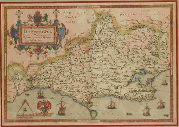 Collection of Dorset maps fetch £21,000 at auction