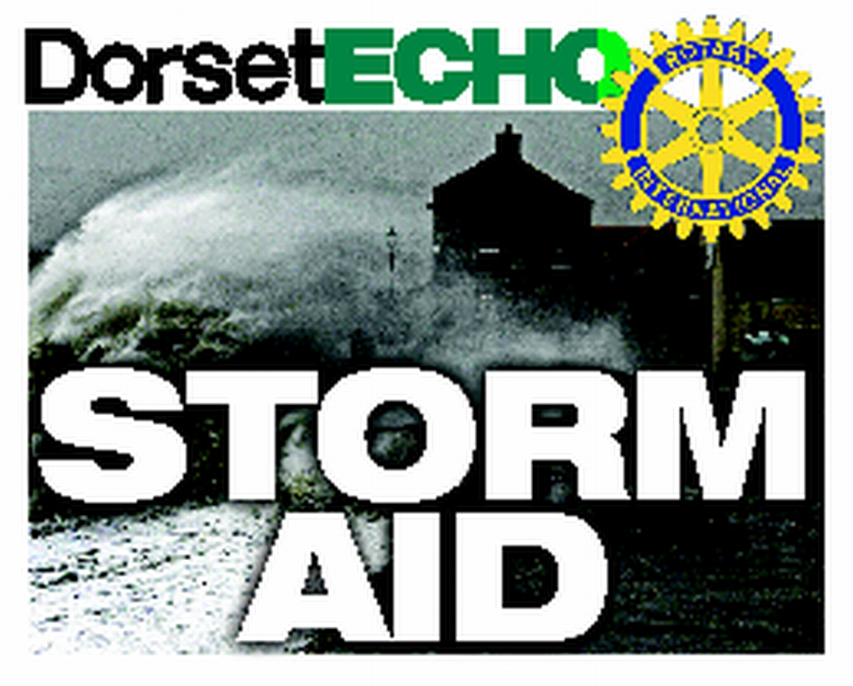 STORMS: Echo appeal tops £3,500
