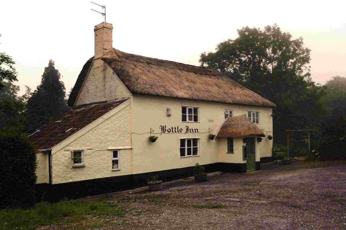 FOR SALE: The Bottle Inn at Marshwood