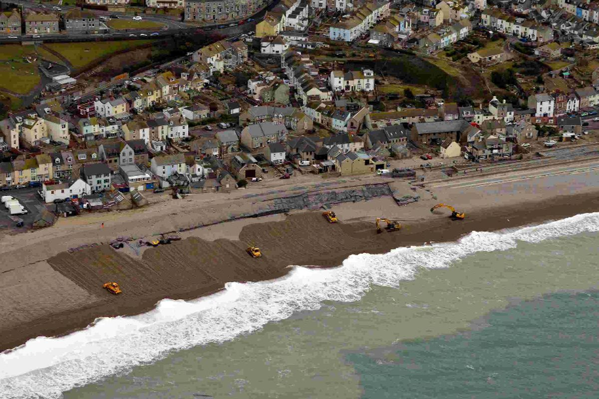 Warning for residents as aerial survey reveals extent of storm damage