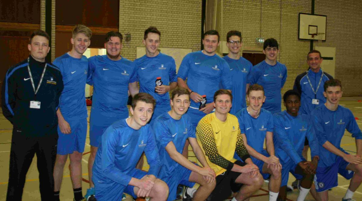 TOP OF THE LEAGUE: Weymouth College