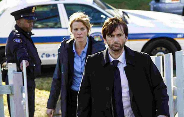 Dorset Echo: GOING GLOBAL: David Tennant stars in Gracepoint, the American version of Broadchurch.
