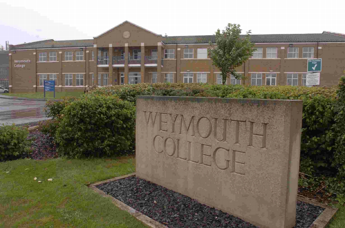 Weymouth College, venue of the Apprentice Fair