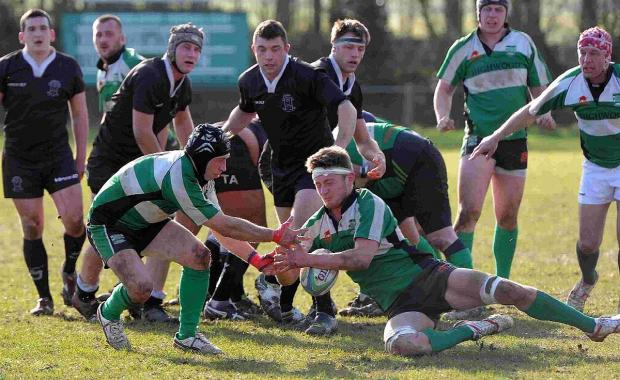 DERBY DEFEAT: Dorchester were beaten by Wimborne last weekend