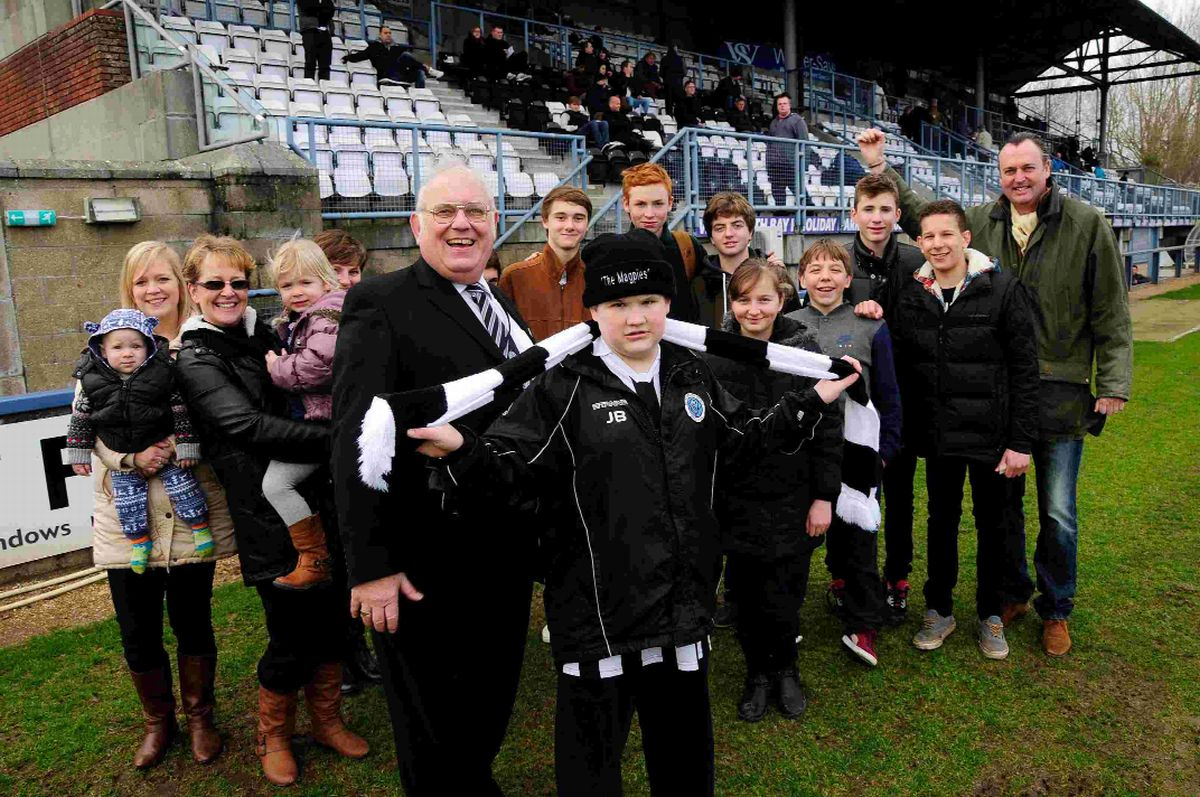 Dorchester Town Football Club spreads its community wings