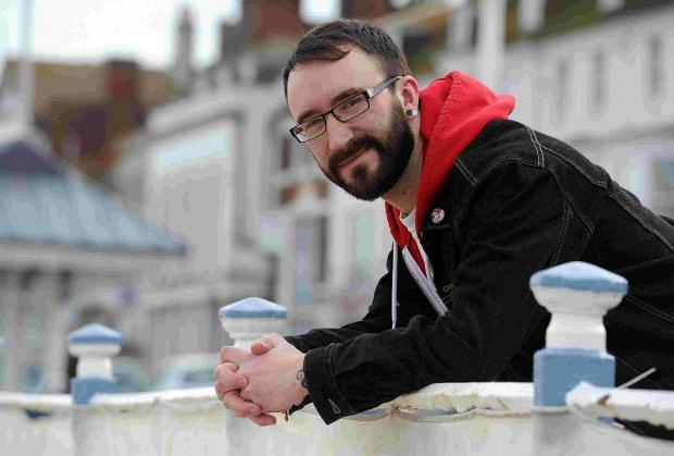 Dorset Echo: LOVE ON AIR: Paul Thompson has a stammer and went on a TV dating show to raise awareness