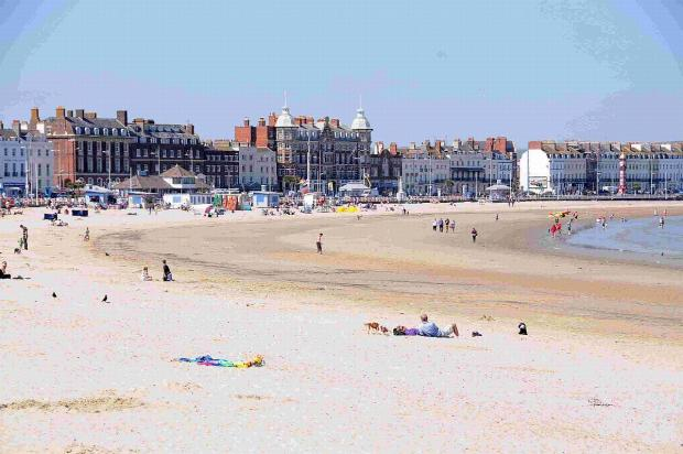 Residents have taken to social media to defend Weymouth