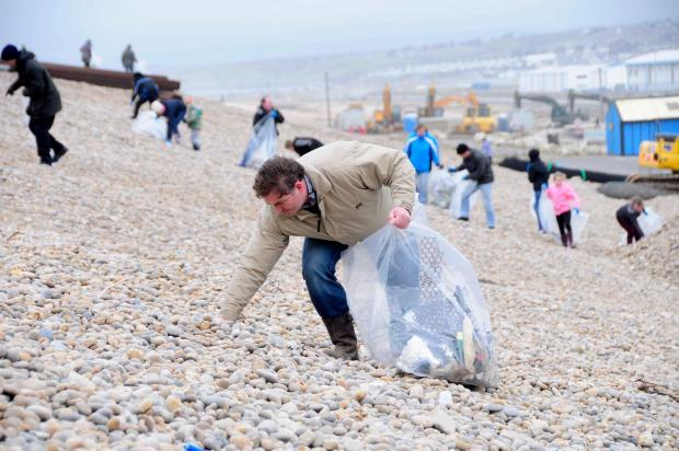 Cigarettes, pet food and olives have washed up on Dorset's beaches