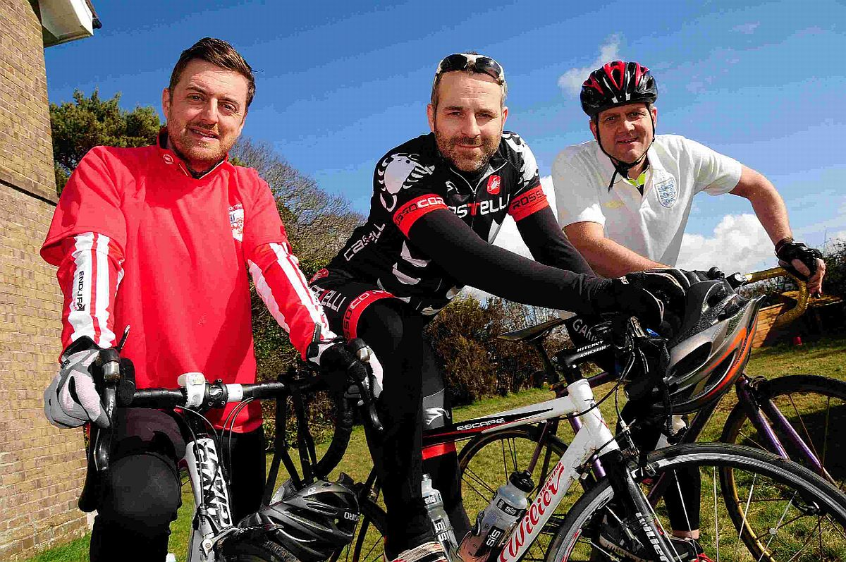 Le Tour De Prem: Crossways cyclist to ride to all 20 Premier League grounds for charity