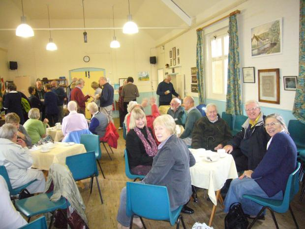 The Mission Hall coffee mornings have finished for the summer