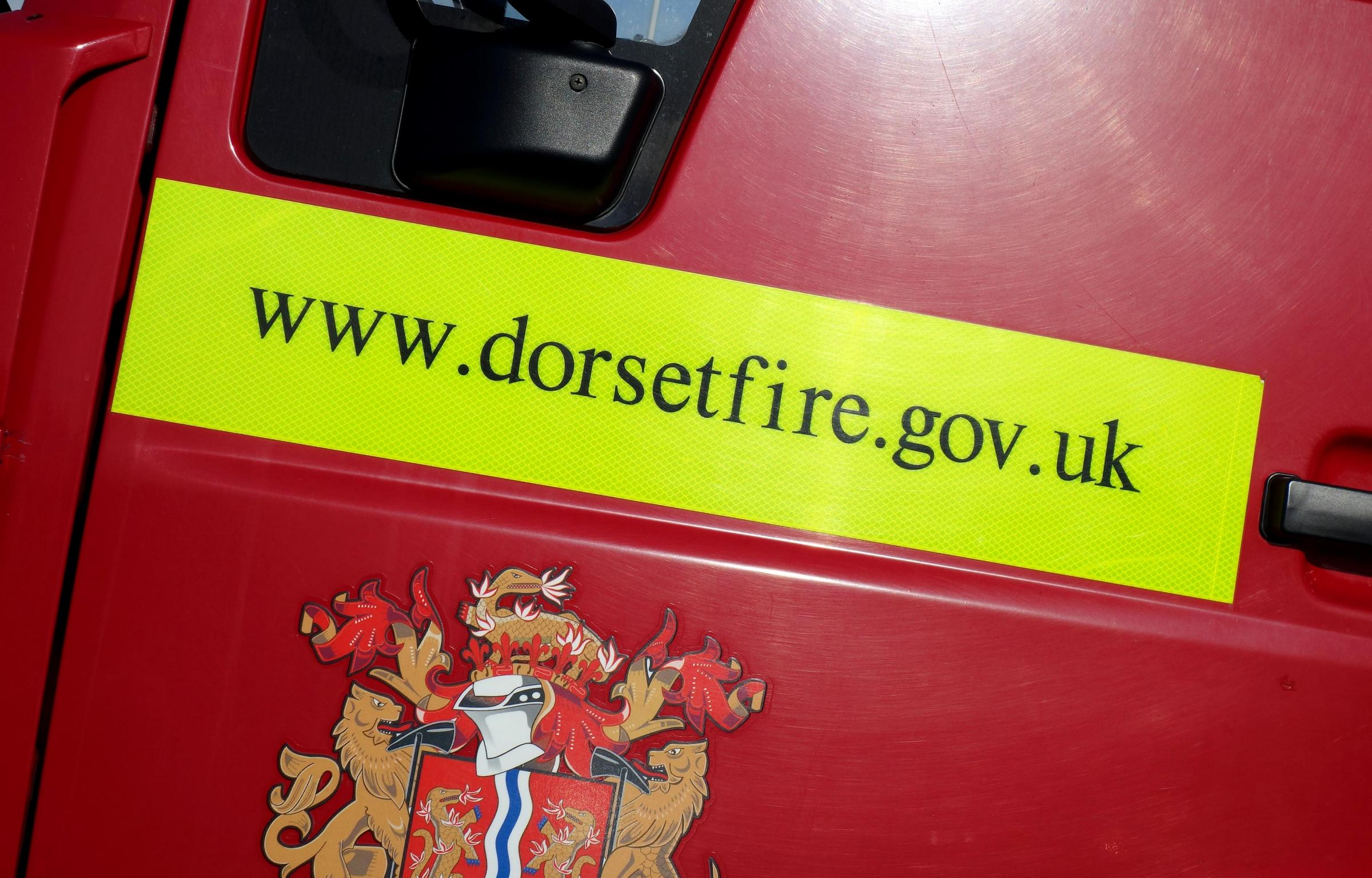 Firefighters attend moped fire in Weymouth