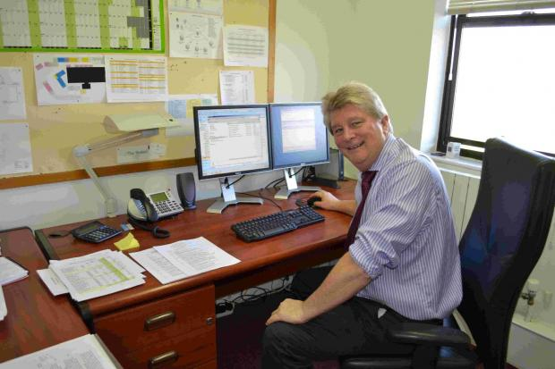 David Connoley, the new IT manager for Magna Housing LTD