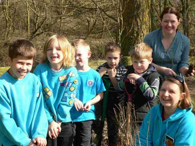 Volunteers get planting at Lodmoor Country Park