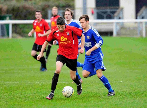 Dorset Echo: WORK COMMITMENTS: Ryan Dovell misses out tomorrow